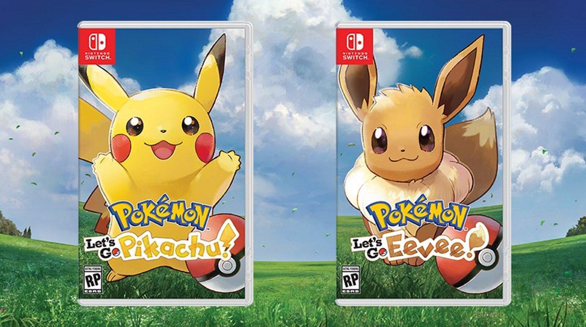 Nintendo annonce trois nouveaux jeux Pokémon dont Pokémon Let's Go on Switch