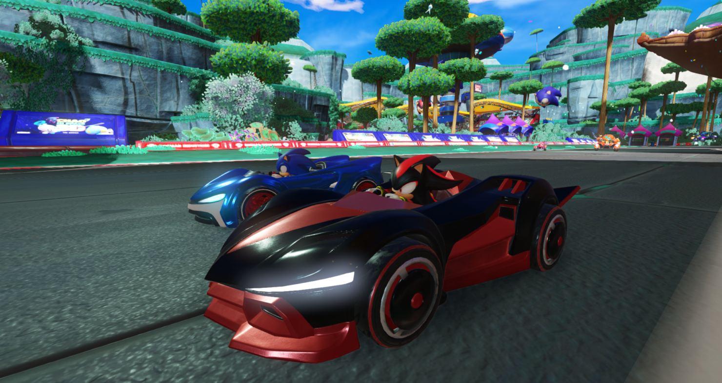 Walmart fuit Team Sonic Racing fuites