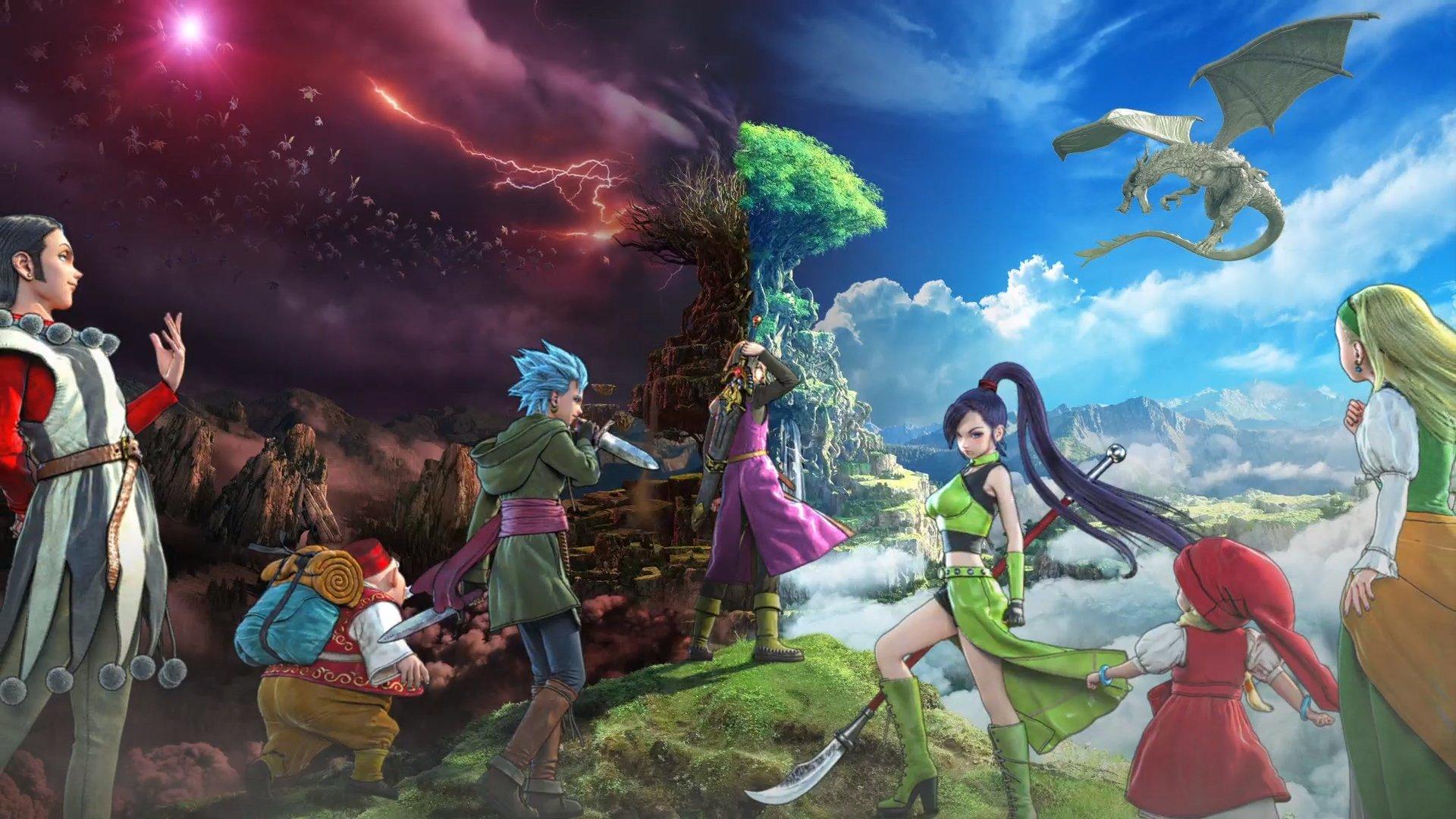 Dragon Quest XI : Echoes of an Elusive Age reçoit une nouvelle bande-annonce