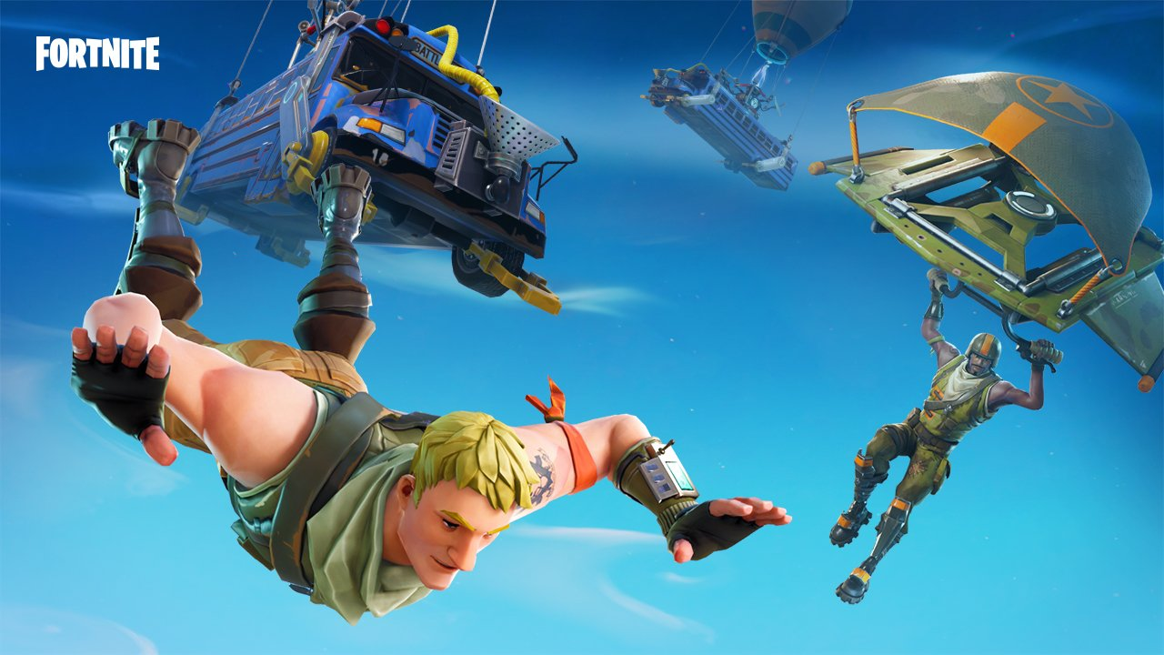 Fortnite maintenant sur Switch