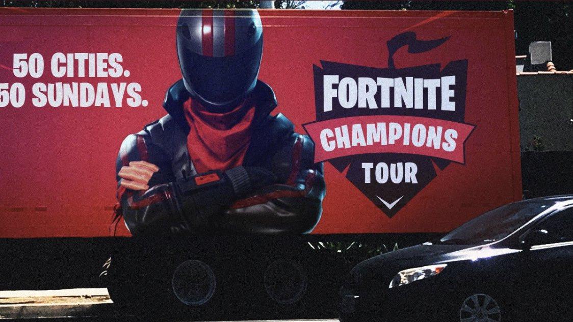 Le Fortnite Champions Tour se rendra dans 50 villes en 50 semaines