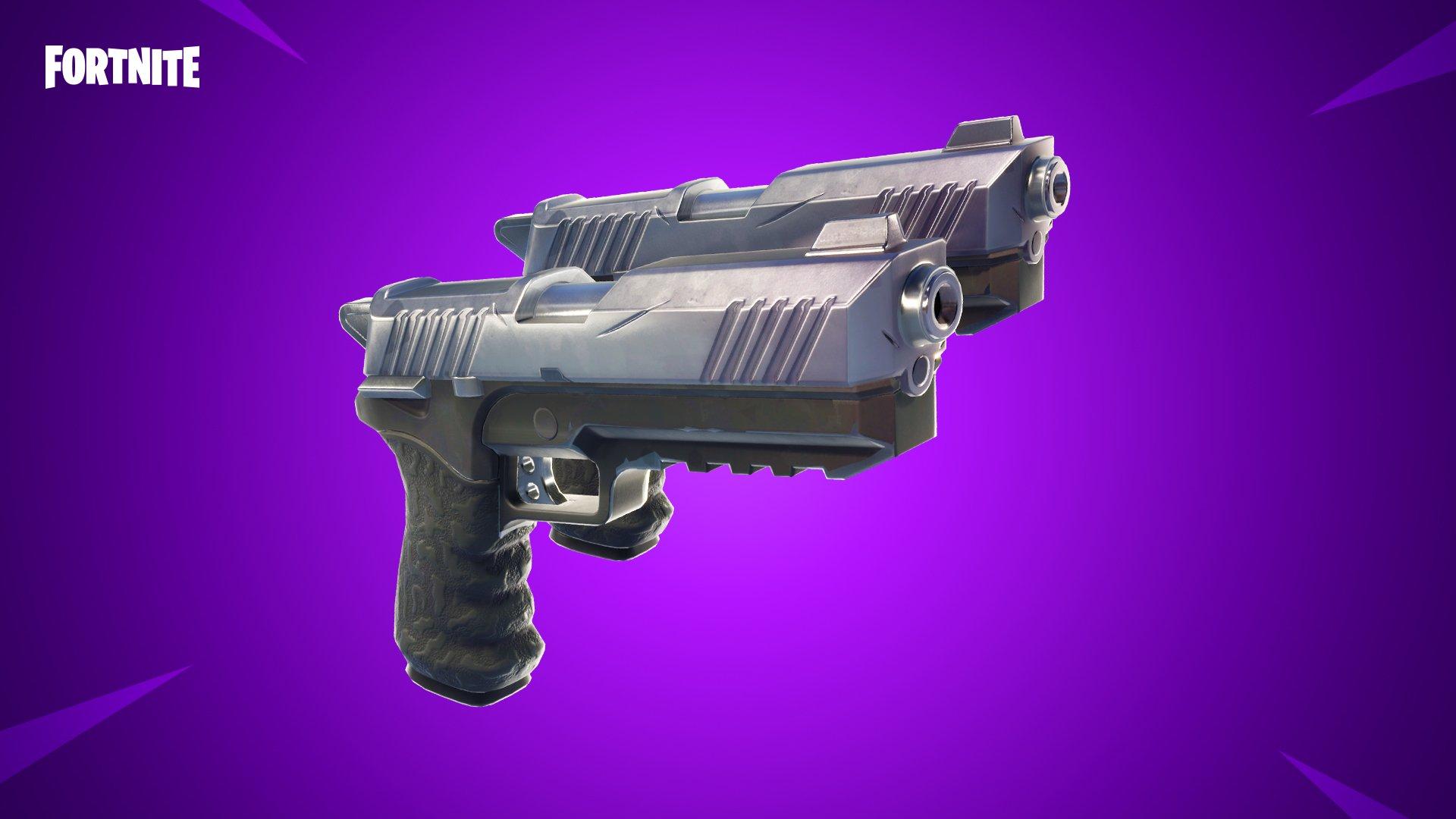 Les pistolets doubles entrent dans l'arène de Fortnite