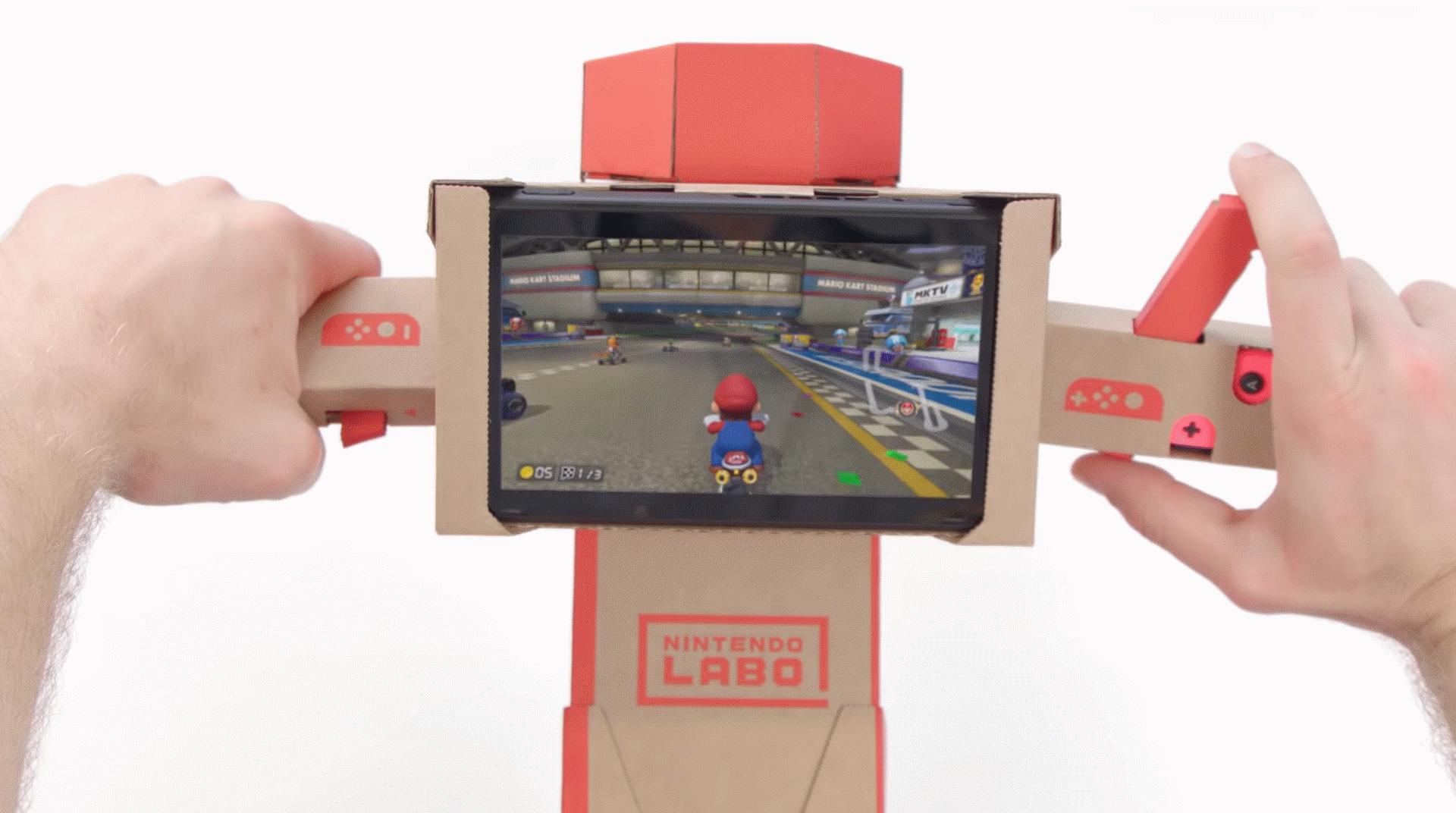 Mario Kart 8 : Deluxe est maintenant compatible avec Nintendo Labo