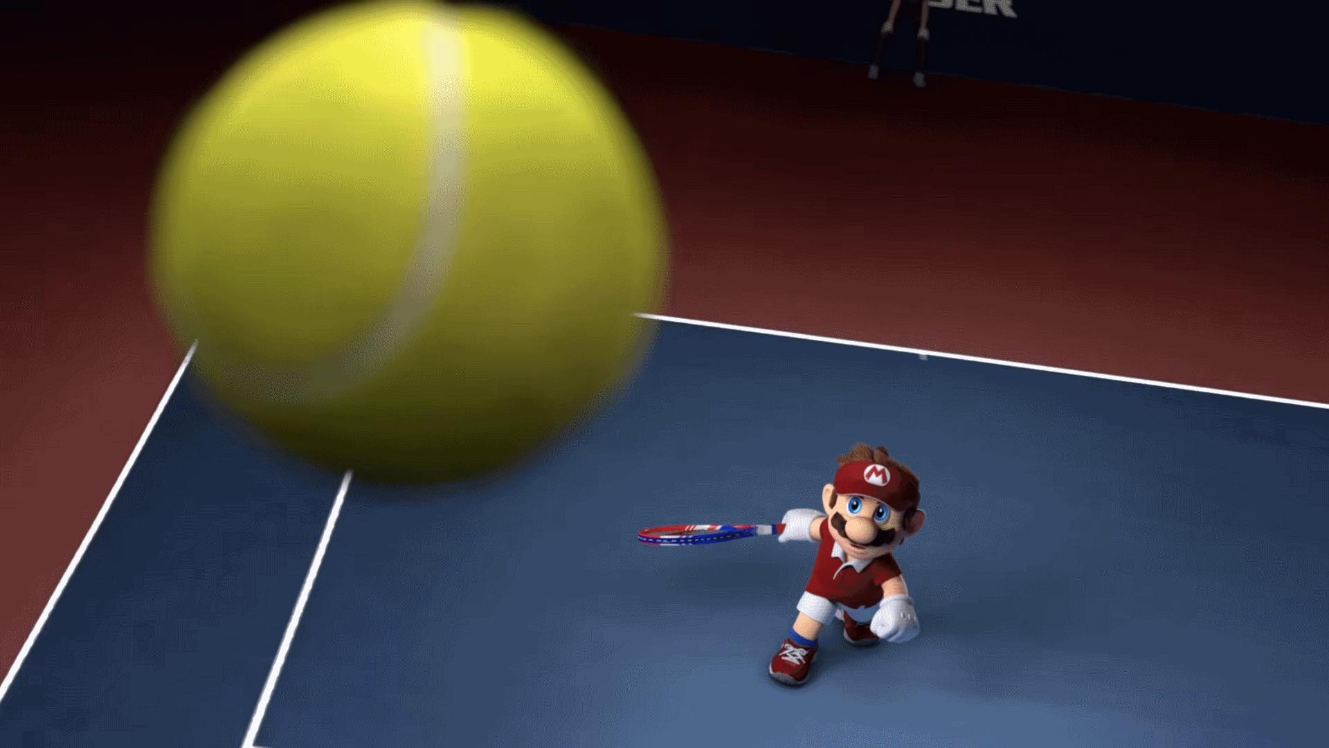 Mario Tennis Aces vous permet de défier le juge de ligne et l'arbitre.