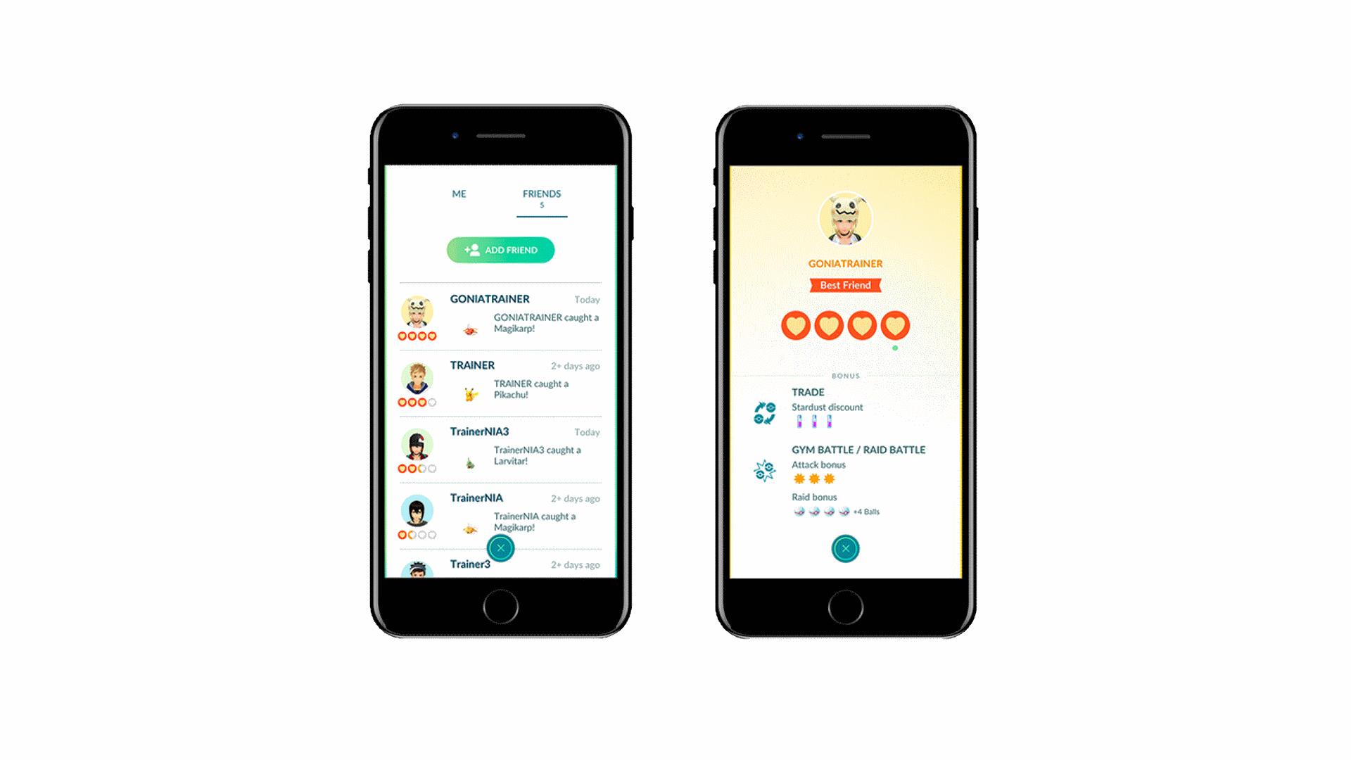 Pokémon GO permettra bientôt le trading