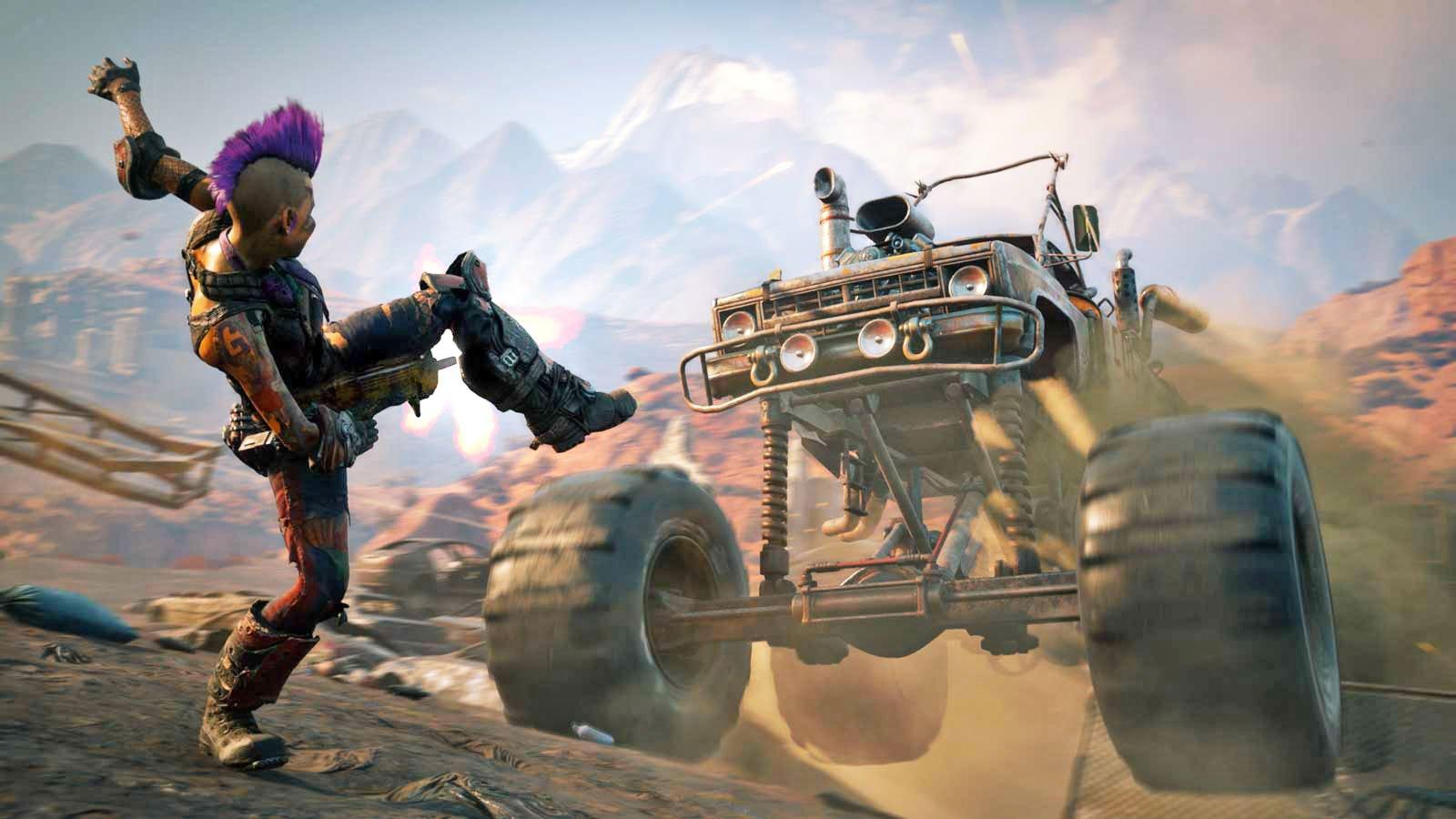 Bethesda présente Rage 2 en avant-première à E3 2018