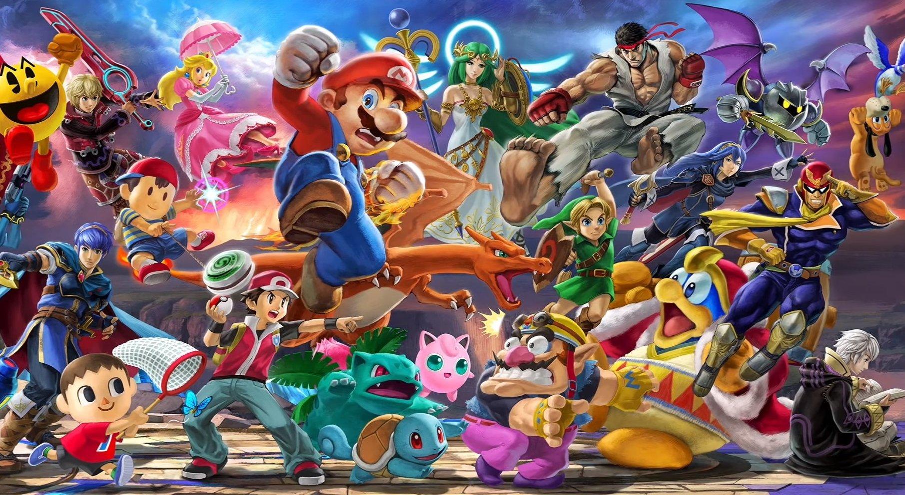 Nintendo lance une énorme vente à thème Smash Bros.