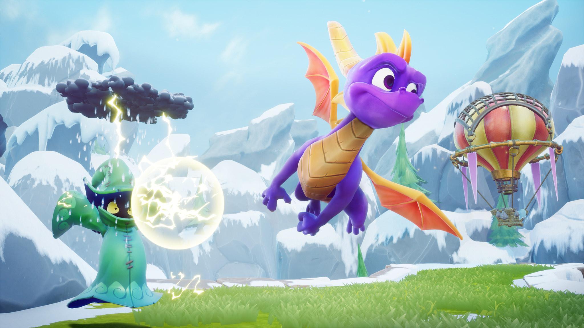 Profitez de 15 secondes entières de jeu Spyro Reignited