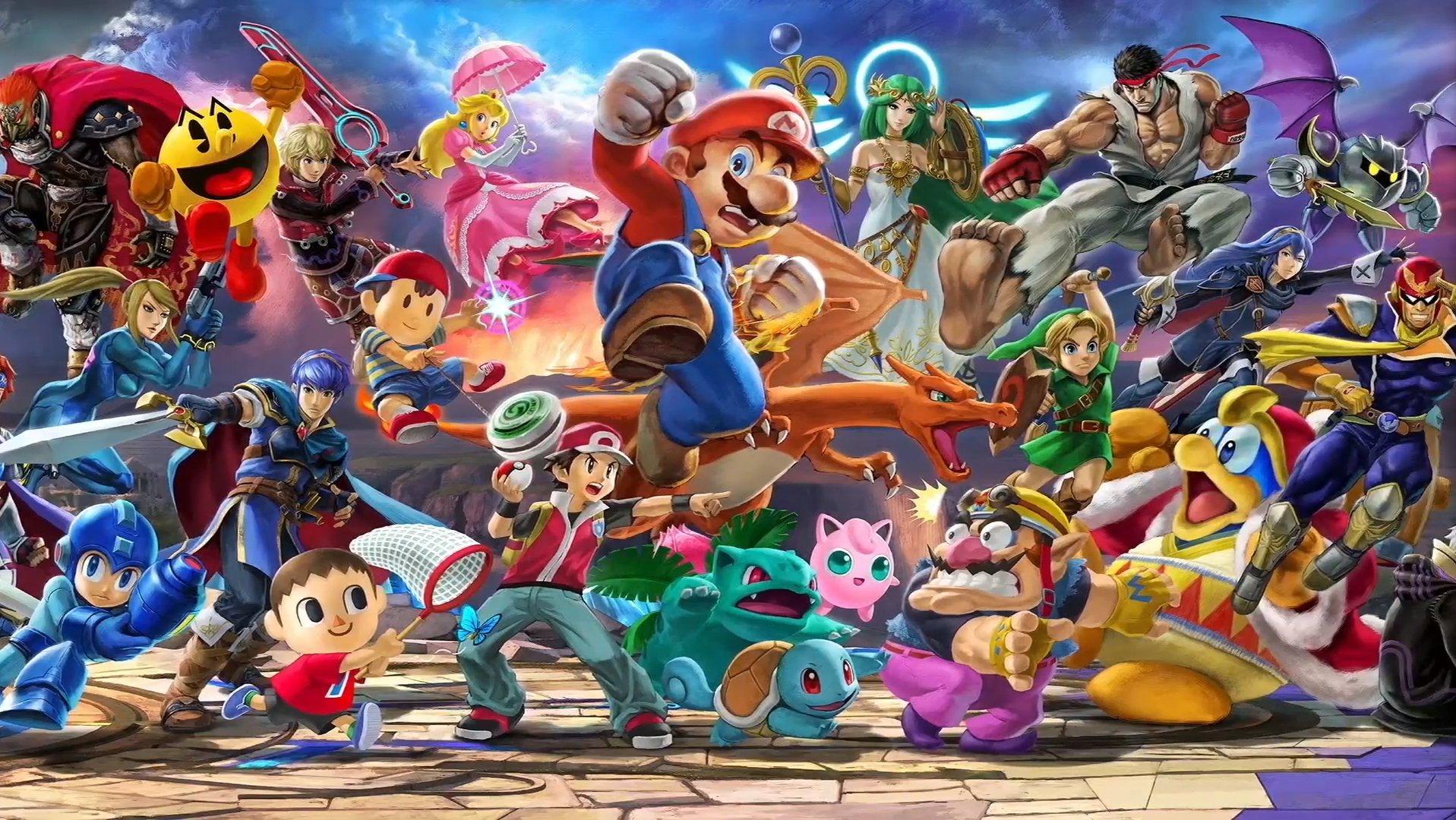 Super Smash Bros. Ultimate a tous les anciens combattants et Ridley