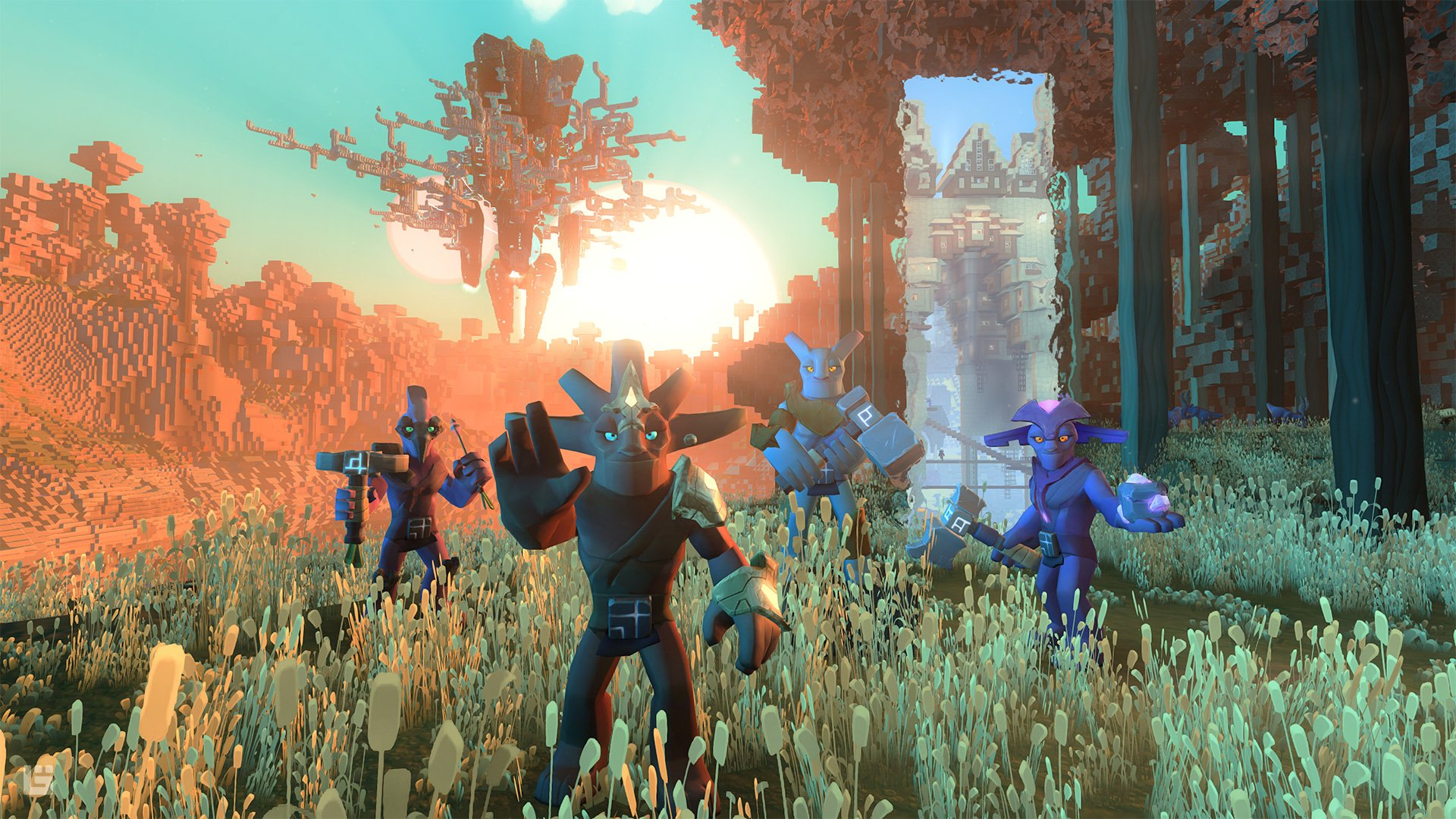 Dimension-hopping voxel MMO Boundless obtient une date de lancement