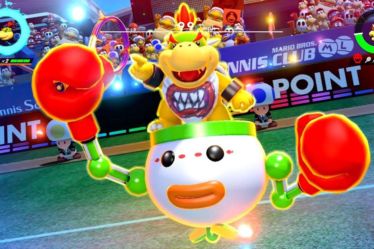 La domination de Mario Tennis Aces par Bowser Jr, qui a révolutionné le monde du tennis, a pris fin