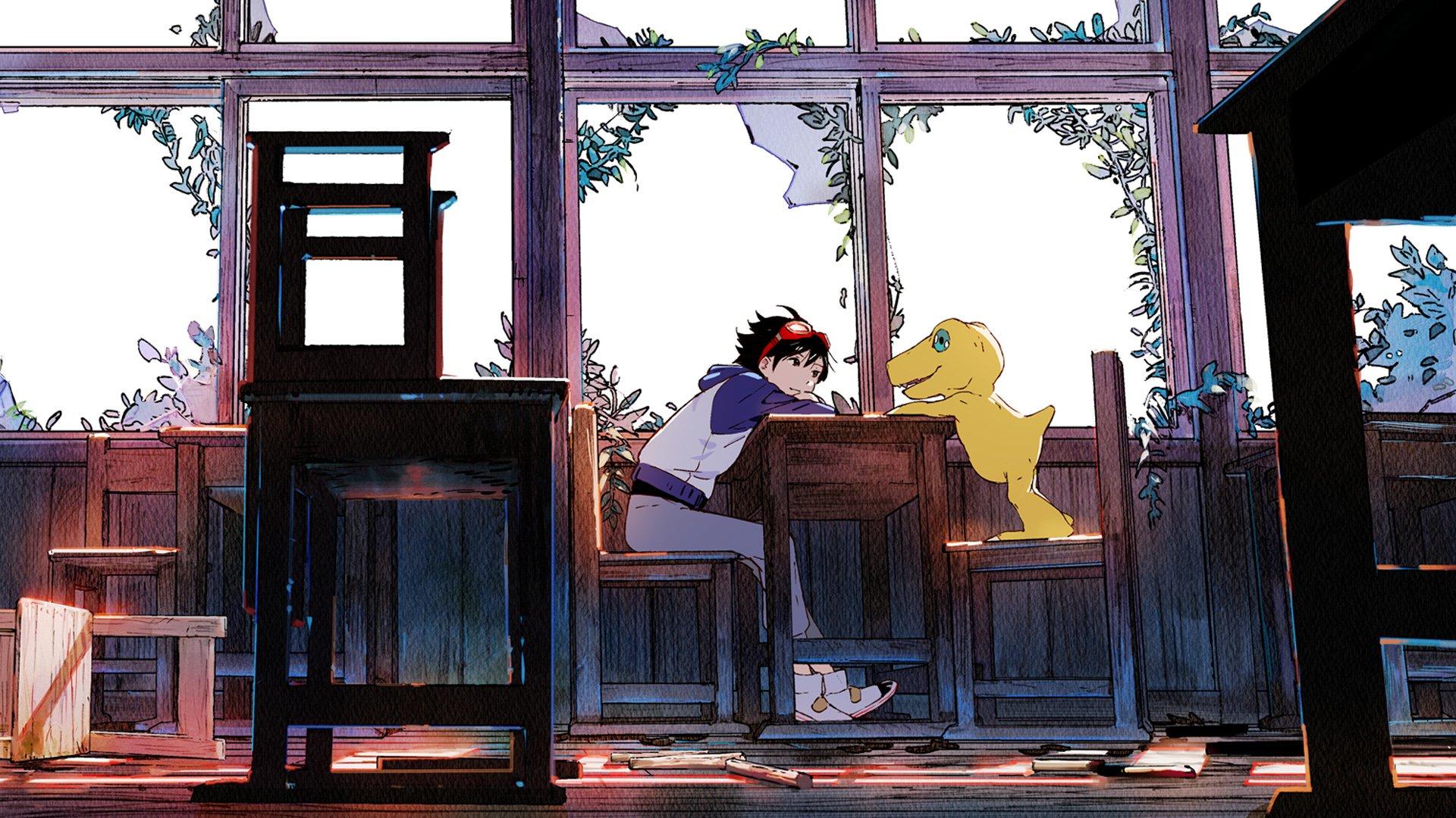 Voici votre premier regard sur Digimon Survive