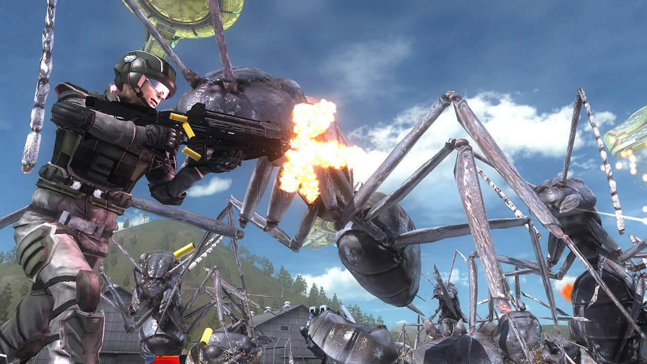 Earth Defense Force 5 comes to the west @@'soon @@