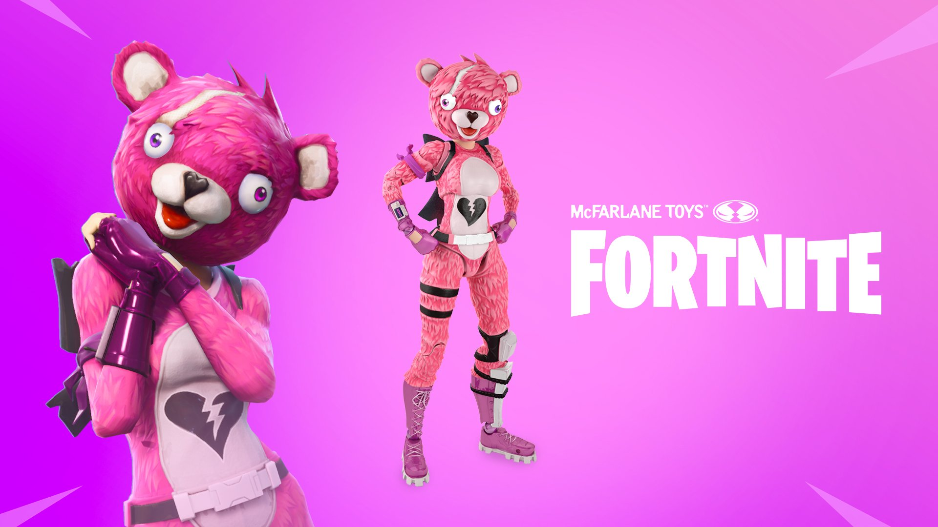 McFarlane produira des figurines Fortnite à collectionner