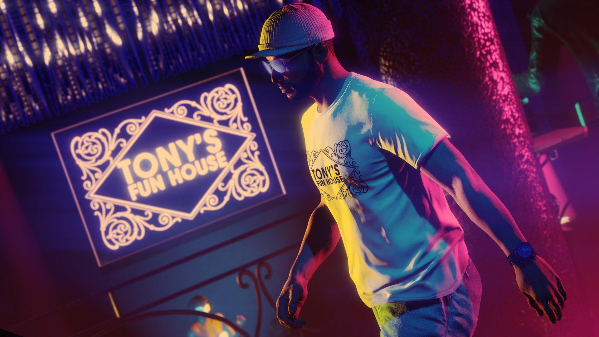 Un clip vidéo musical dans le jeu présente la mise à jour de GTA Online après les heures d'ouverture.