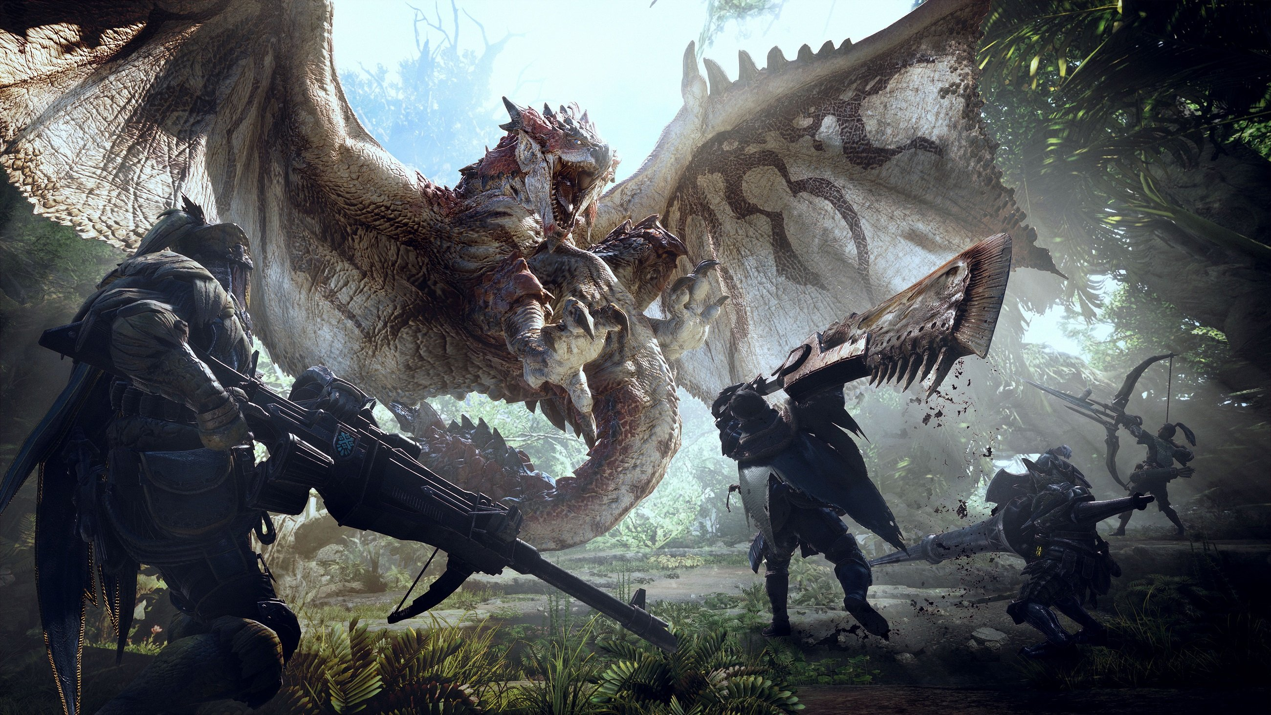 Monster Hunter : Les légendes de la Guilde à venir en 2019