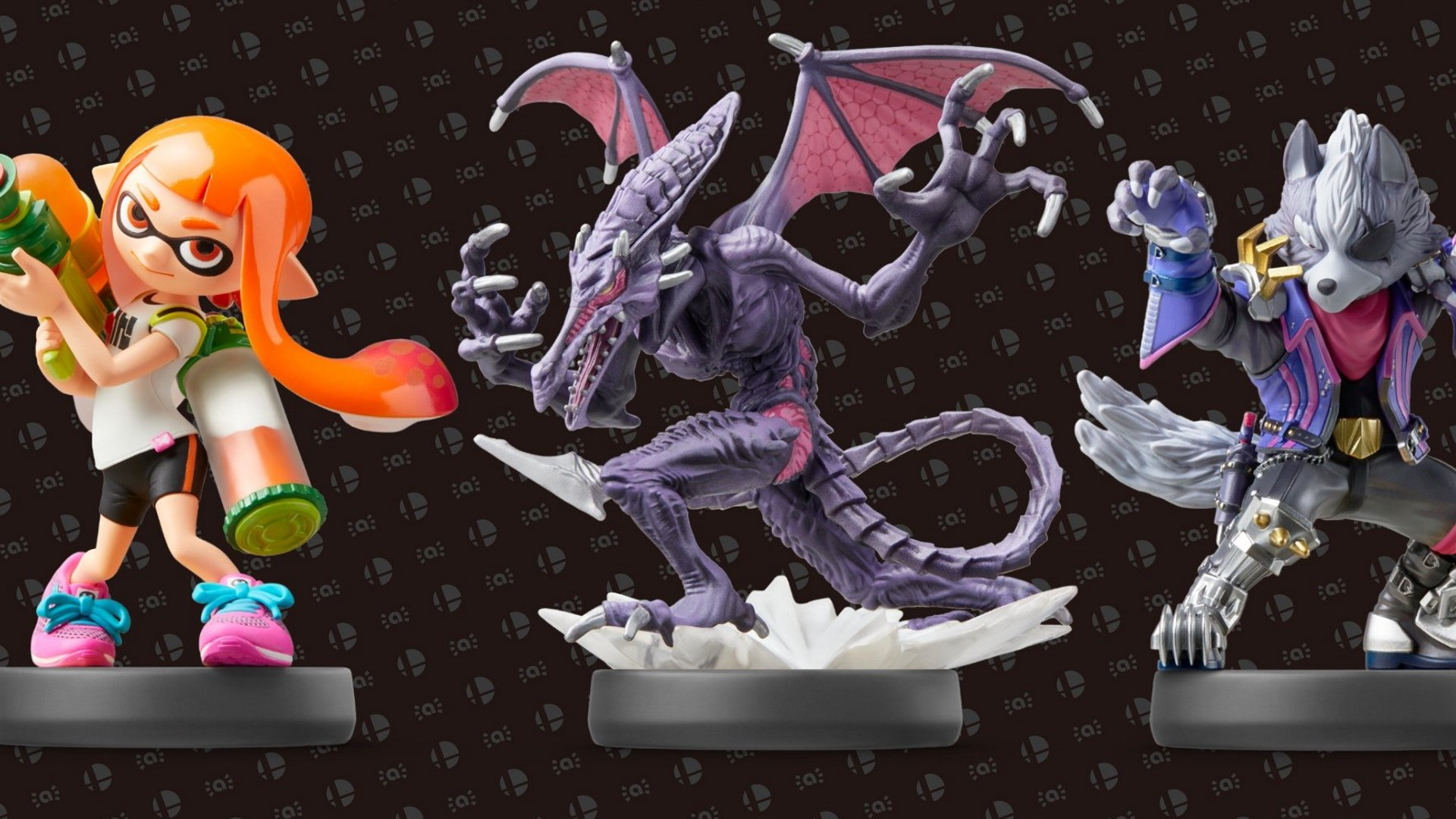 Nintendo dévoile Inkling, Ridley et Wolf Amiibos