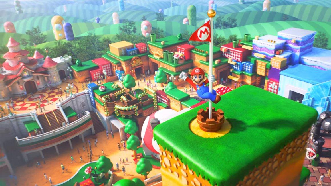 Le parc d'attractions Nintendo d'Universal aura une synergie avec les jeux, dit Miyamoto.