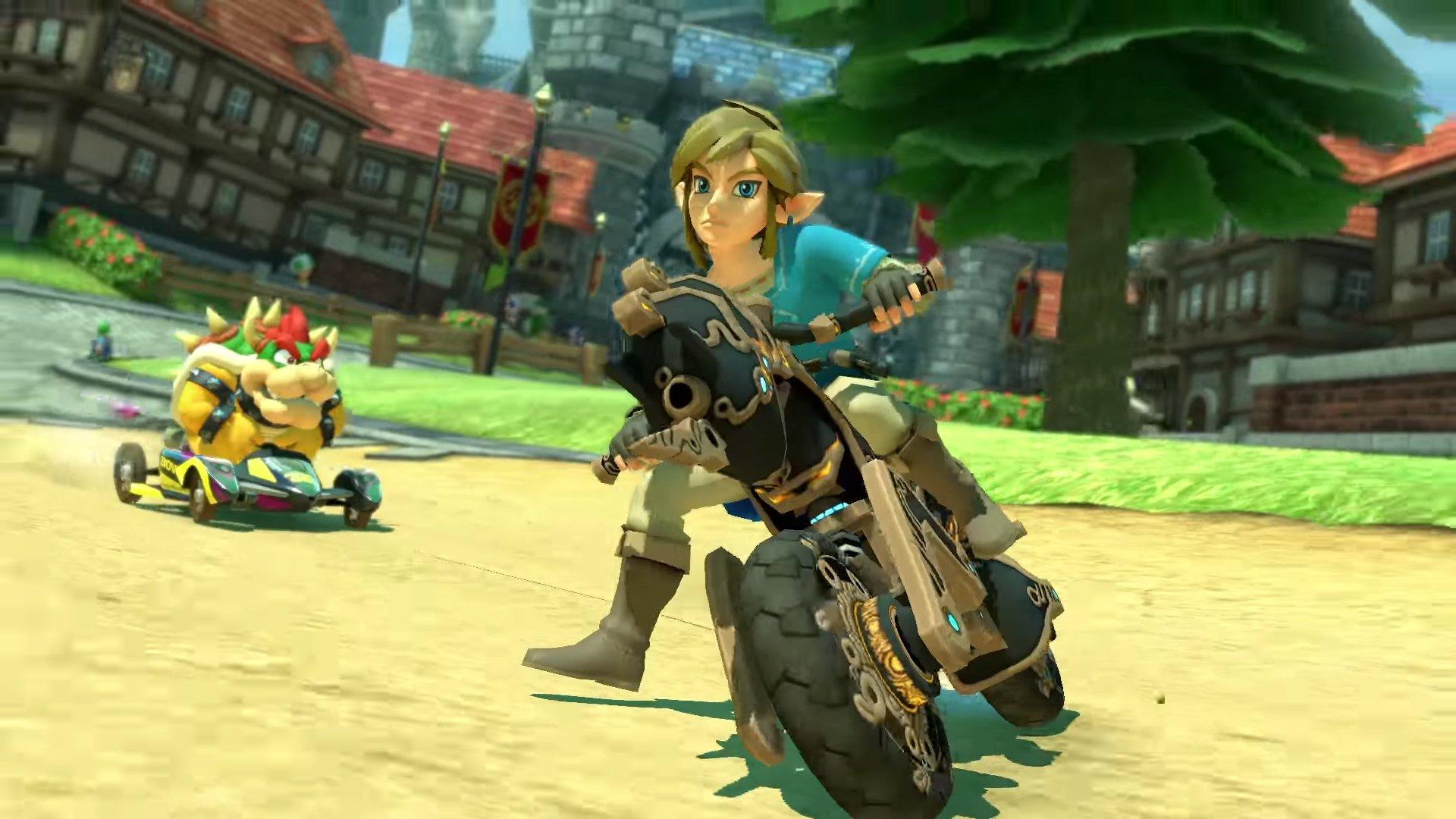 Breath of the Wild Link rejoint la liste de Mario Kart 8 en mise à jour gratuite