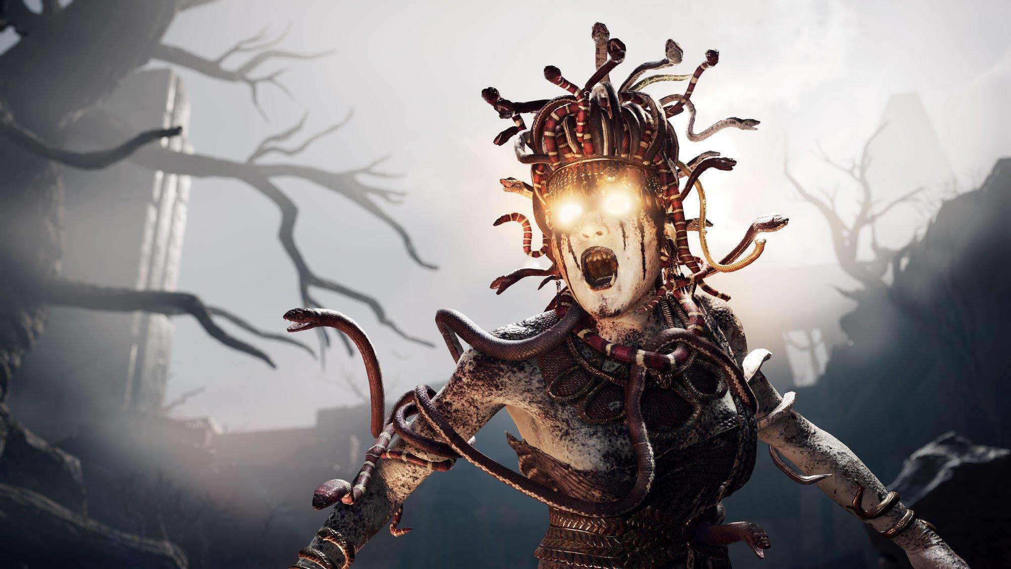 Voici Medusa en action dans L'Odyssée de la foi d'Assassin