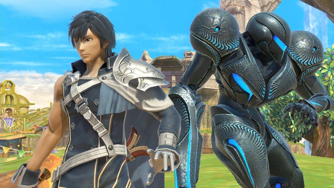 Chrom et Dark Samus s'ajoutent à Smash Bros. Ultimate's Echo fighters.
