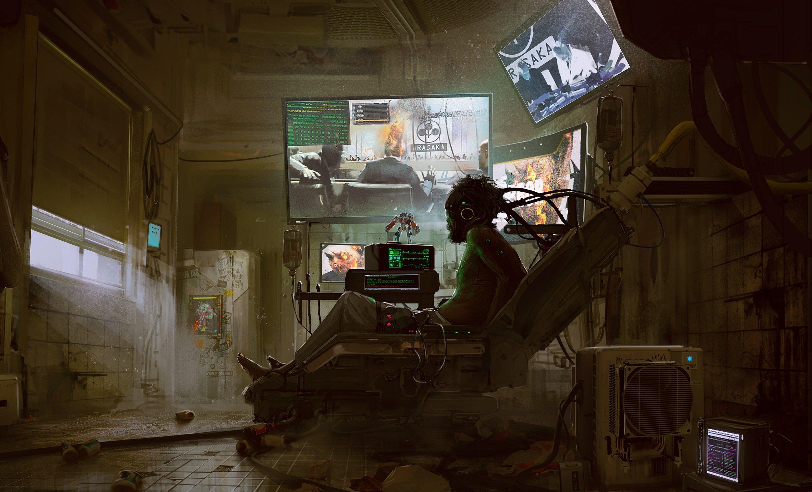 Cyberpunk 2077 jouable du début à la fin