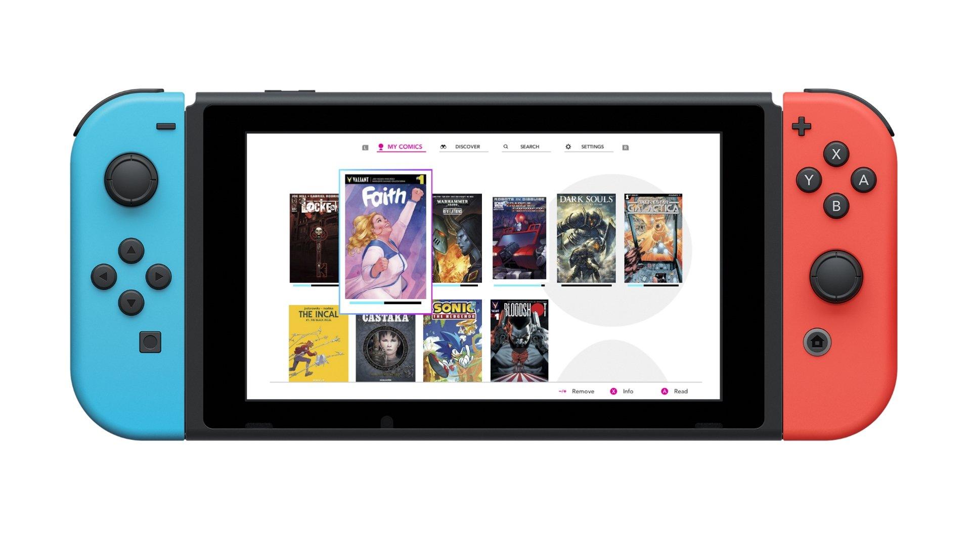 InkyPen vous permet de lire vos BD préférées sur Switch