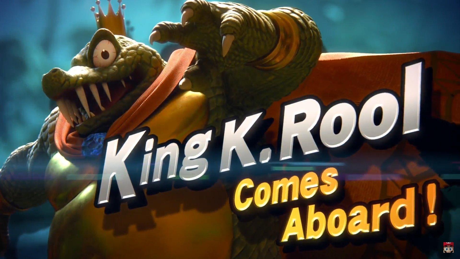 Donkey Kong's King K. Rool saute dans Super Smash Bros. Ultimate