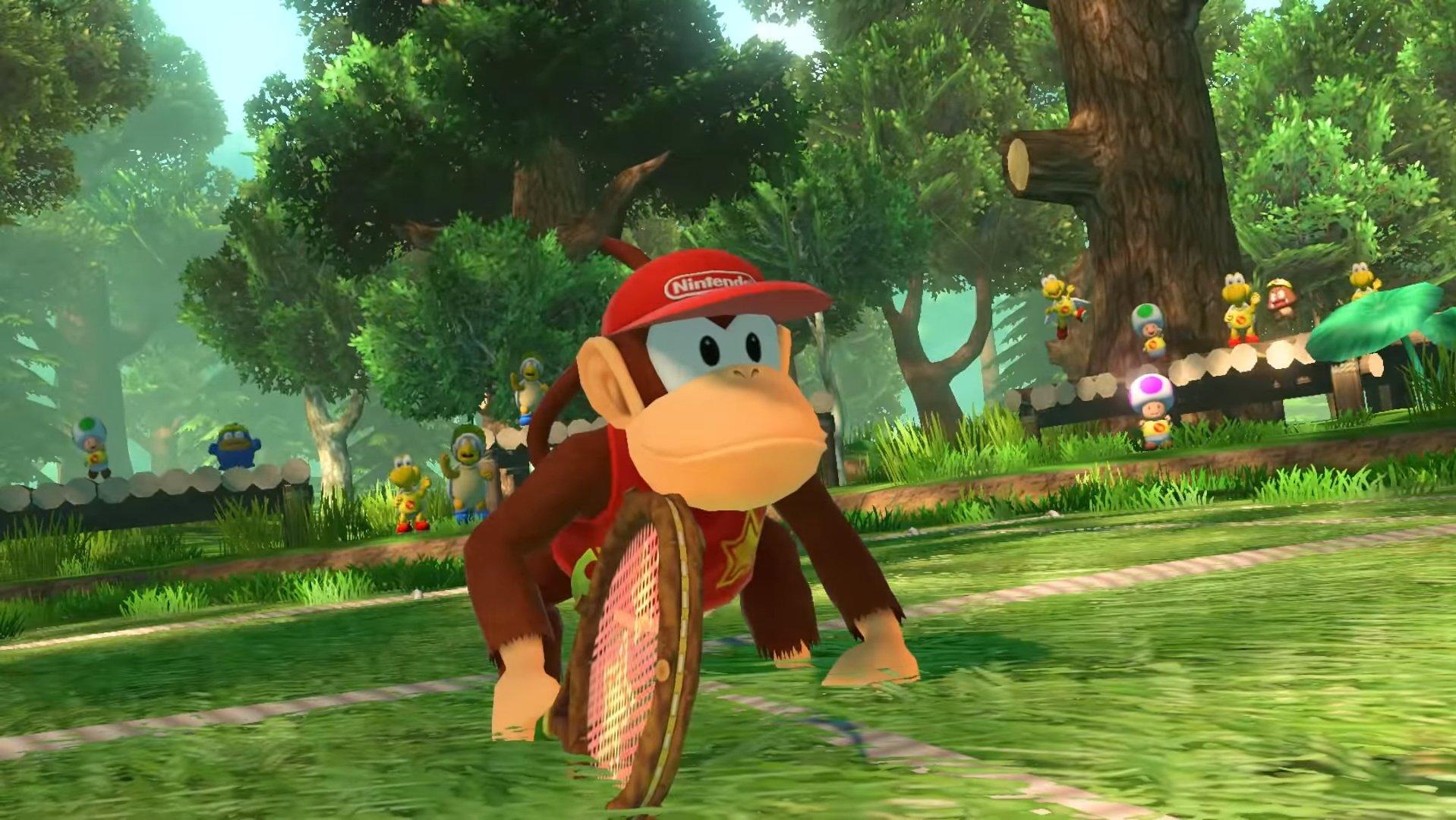 Trois nouveaux personnages de Mario Tennis Aces à venir cet automne