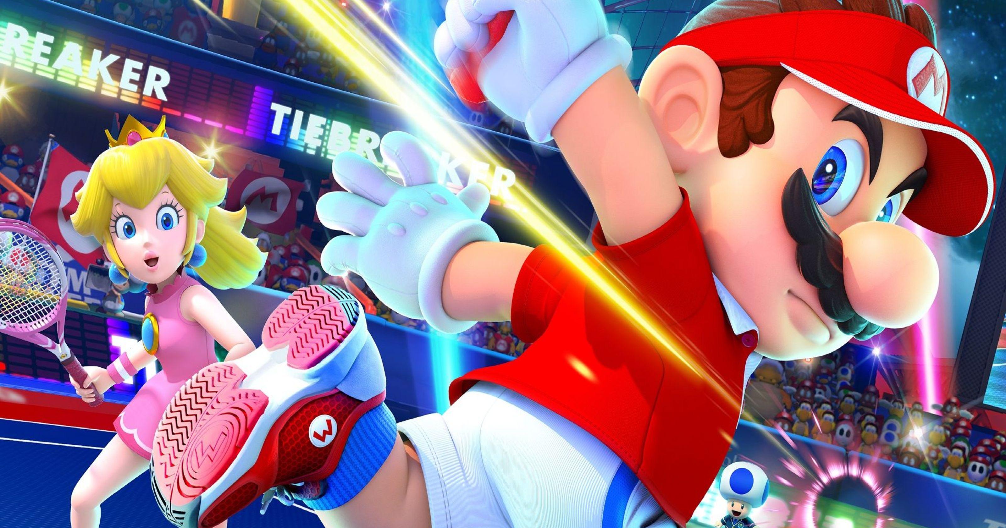 Nintendo lance le nouveau pack Mario Tennis Aces pour Switch