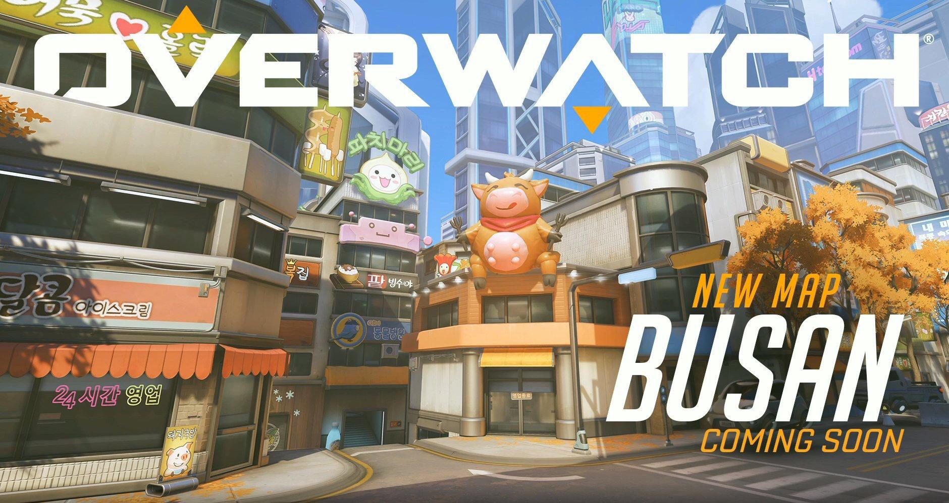 Overwatch's Busan map prend le contrôle de la deuxième ville de Corée du Sud