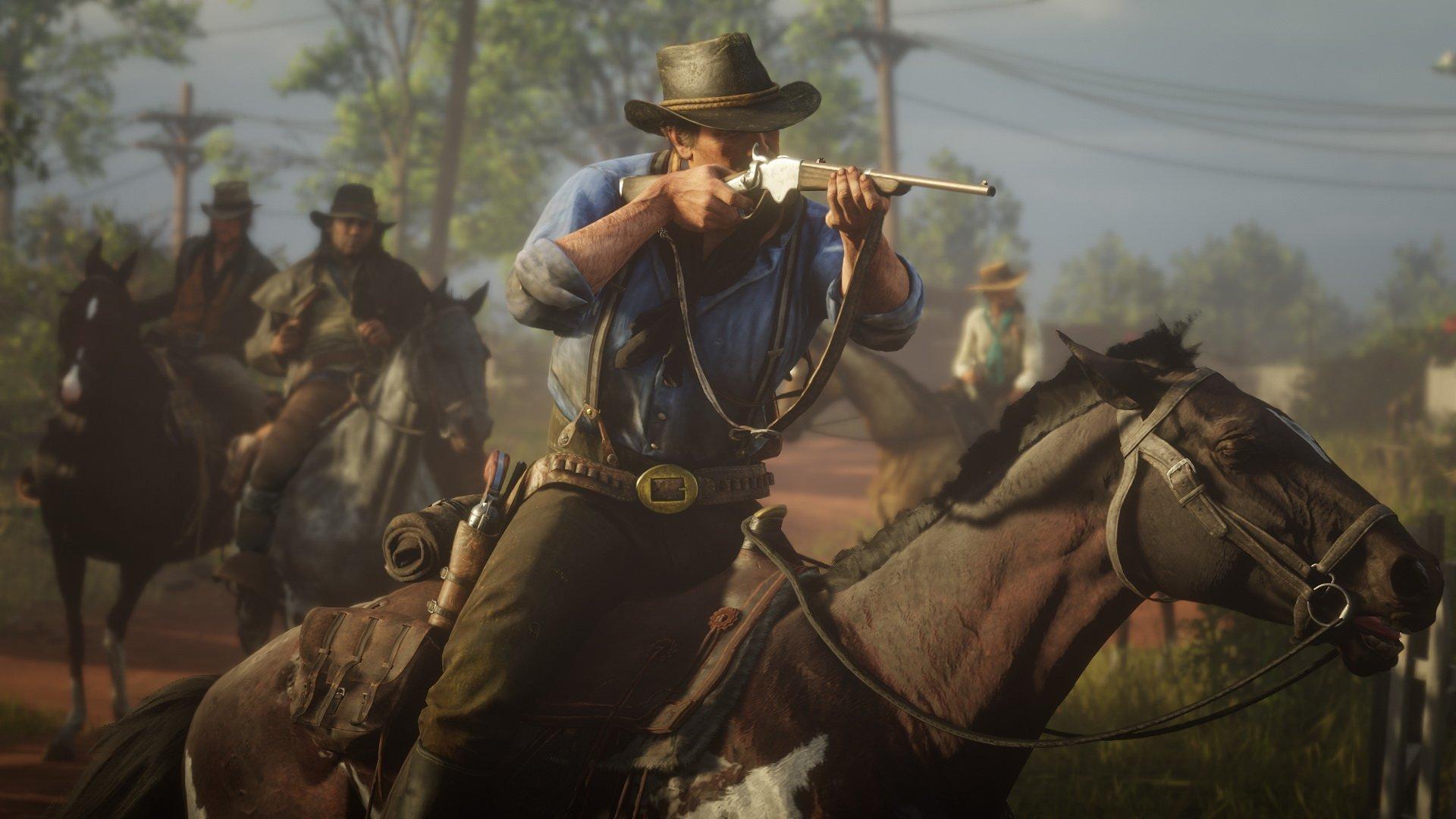 Red Dead Redemption 2 vidéo de gameplay le 9 août prochain