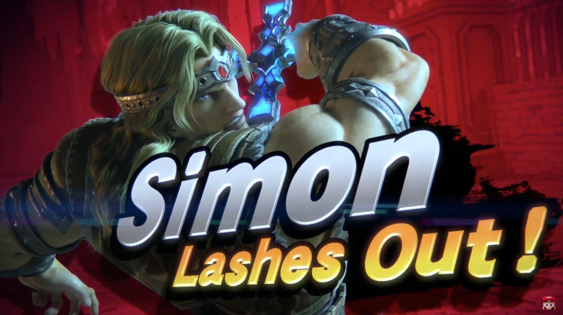 Simon Belmont et Richter Belmont ont annoncé pour Super Smash Bros. Ultimate
