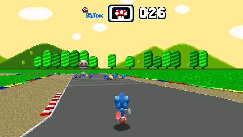 L'exposition Sonic Amateur Games Expo est ouverte