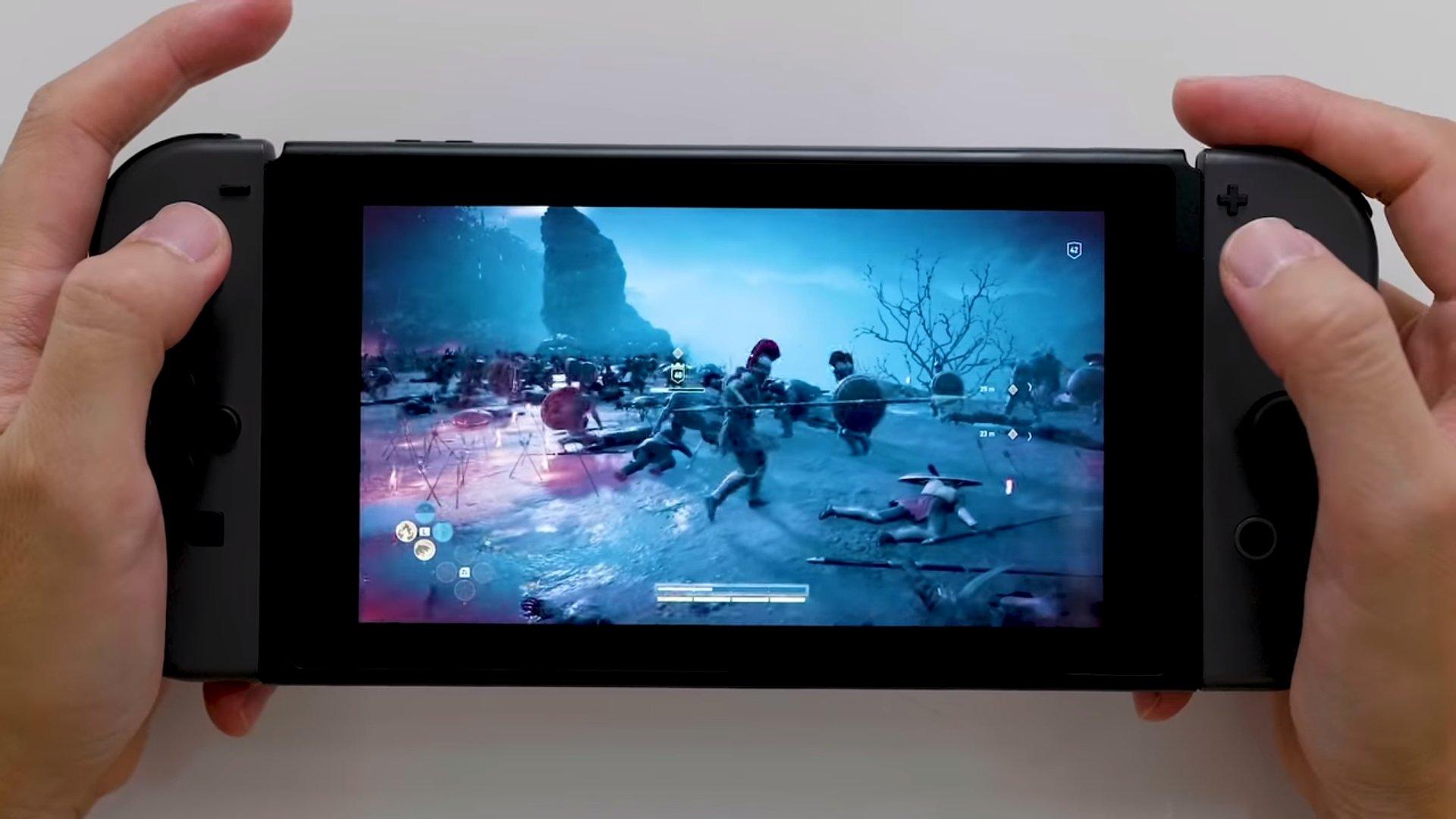 L'Odyssée de Creed d'Assassin pour obtenir le lancement de la version japonaise de Switch
