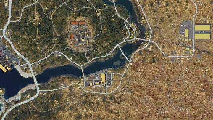 La carte du mode Blackout de Call of Duty a été révélée pièce par pièce.