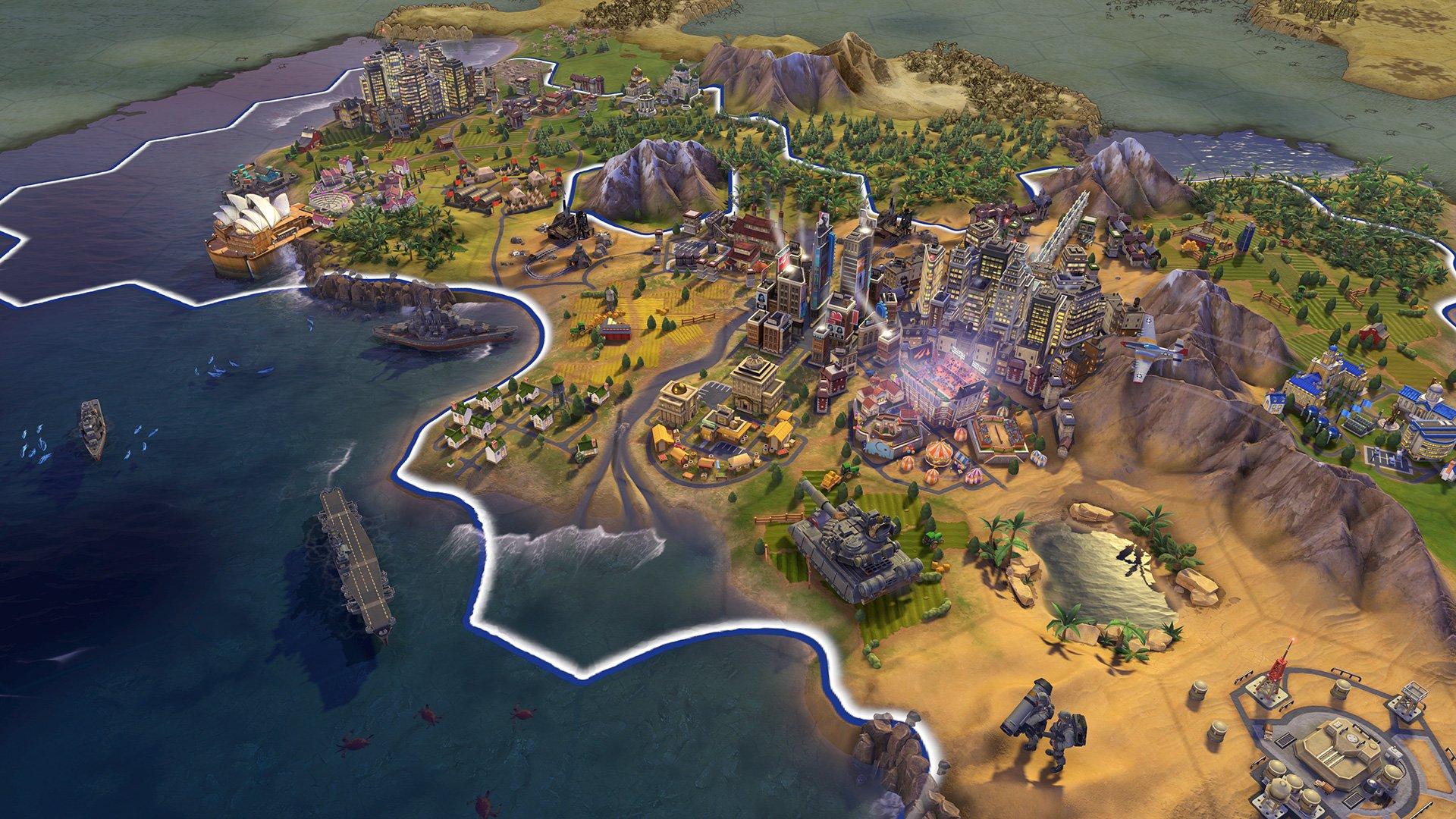 Civilization 6 de Sid Meier's recevant une version de la console Nintendo