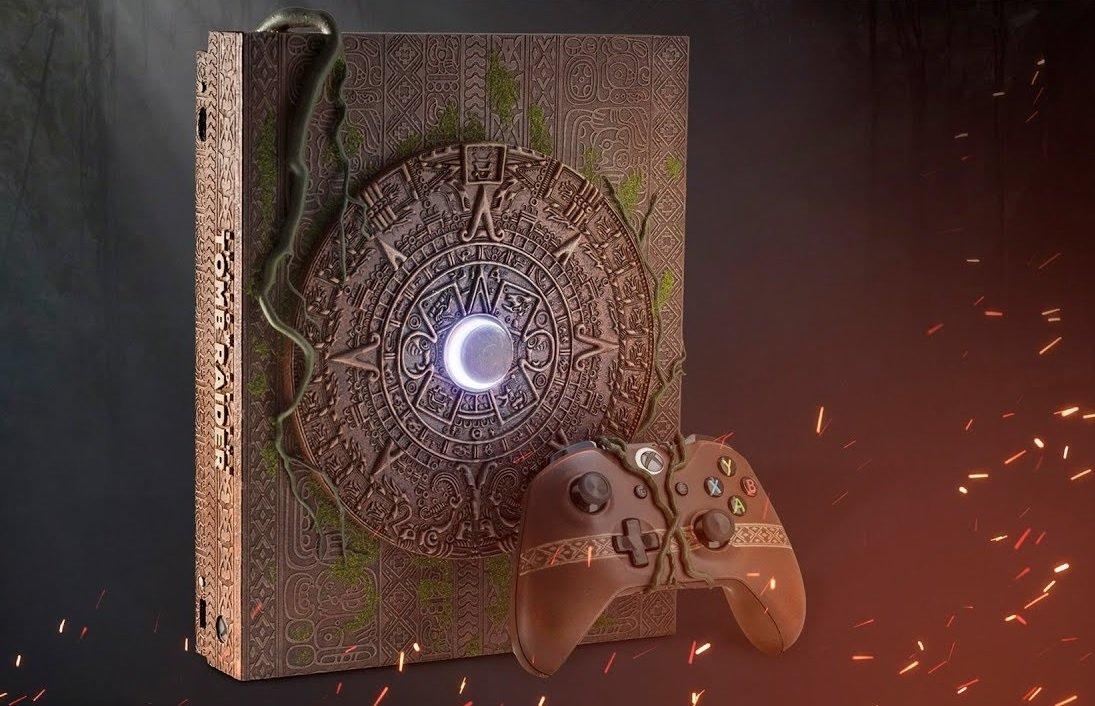 Jetez un coup d'oeil à cette incroyable console Xbox One X personnalisée de Tomb Raider.