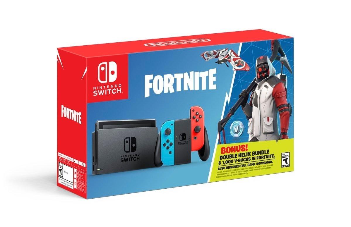 Fortnite pour Nintendo Switch le 5 octobre prochain