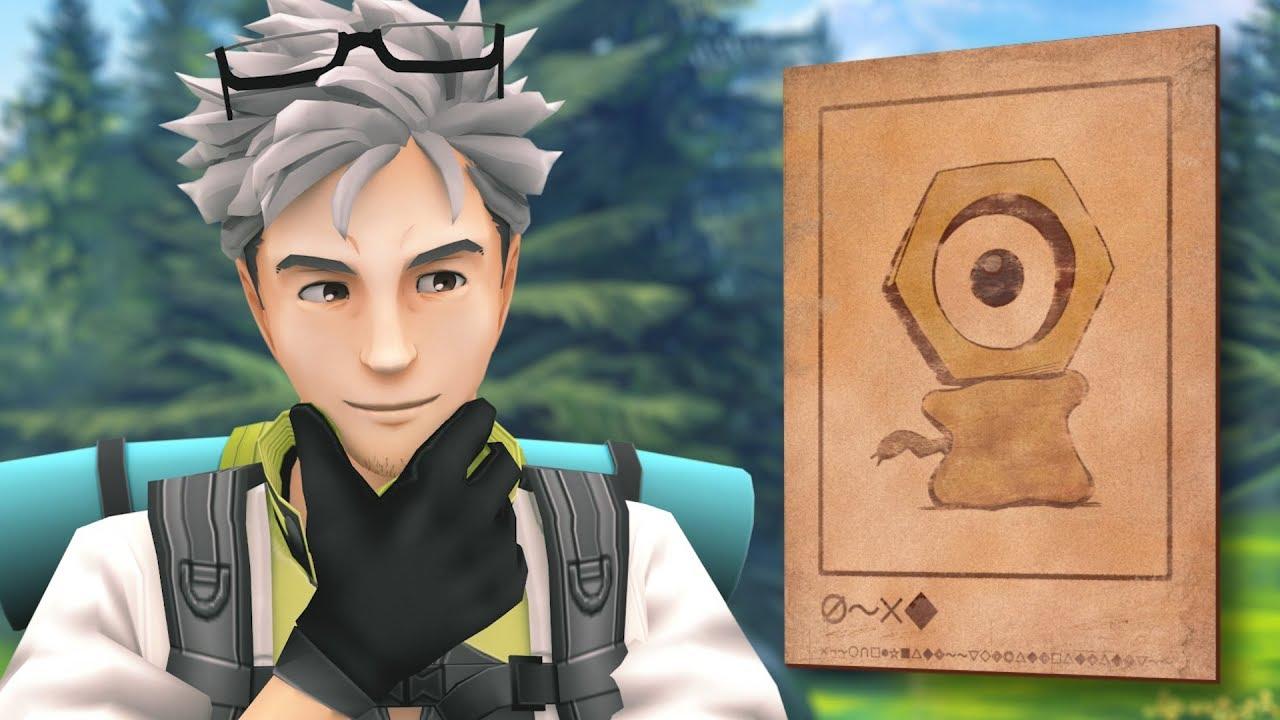 Meltan présenté à Pokémon GO