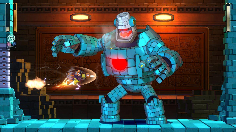 Il y a une démo de Mega Man 11 en ce moment.