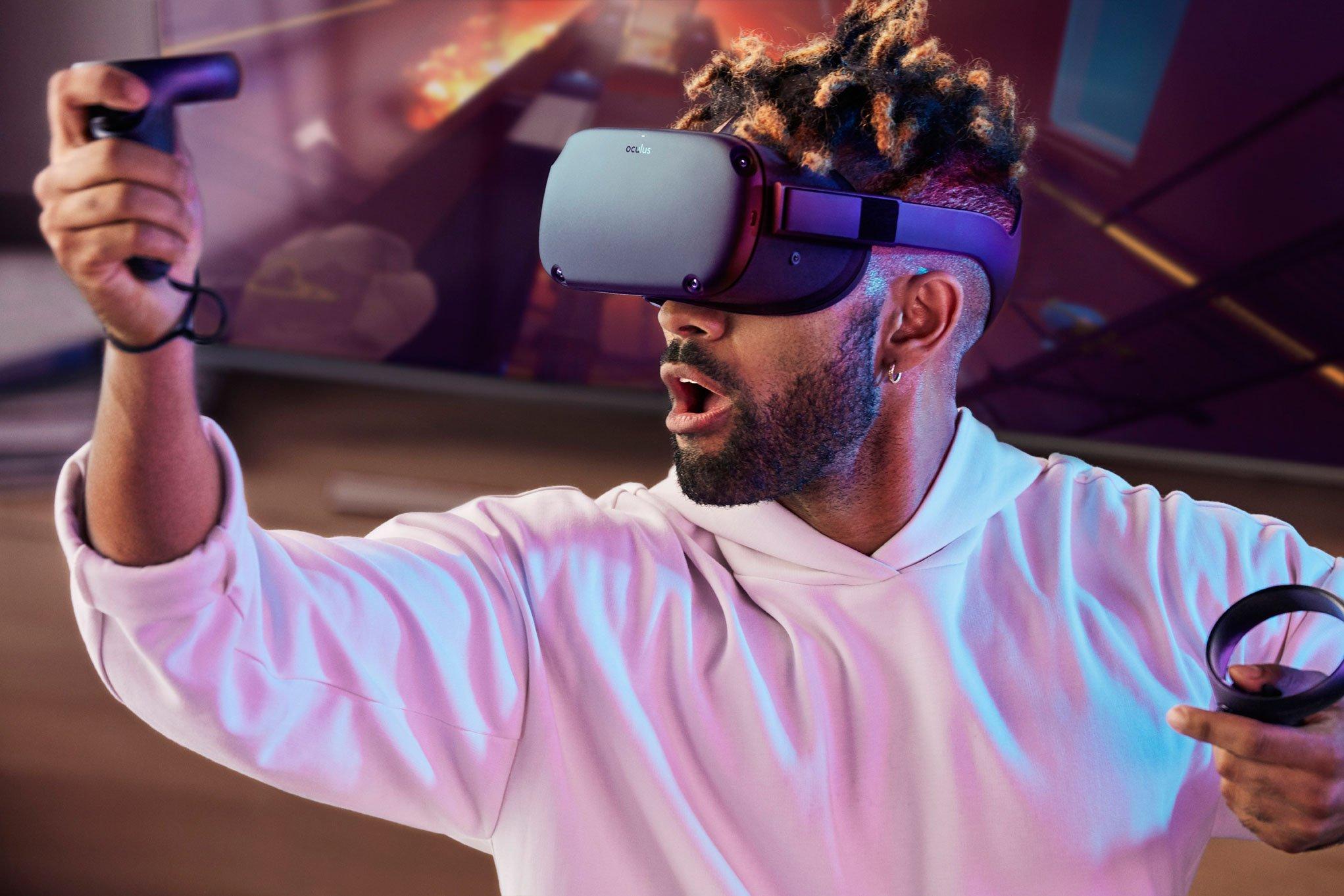 Oculus Quest est un système VR tout-en-un, lancé au printemps prochain.