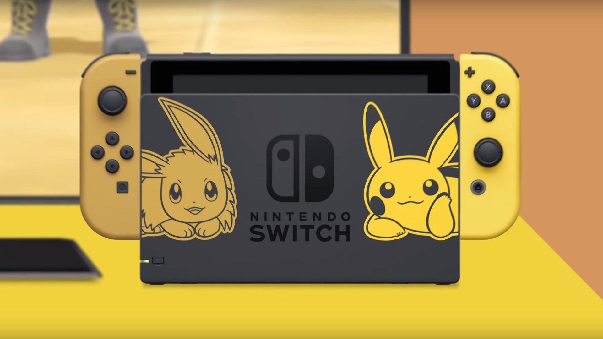 Un Pokémon Let's Go Pikachu/Eevee Switch en édition limitée est en route.
