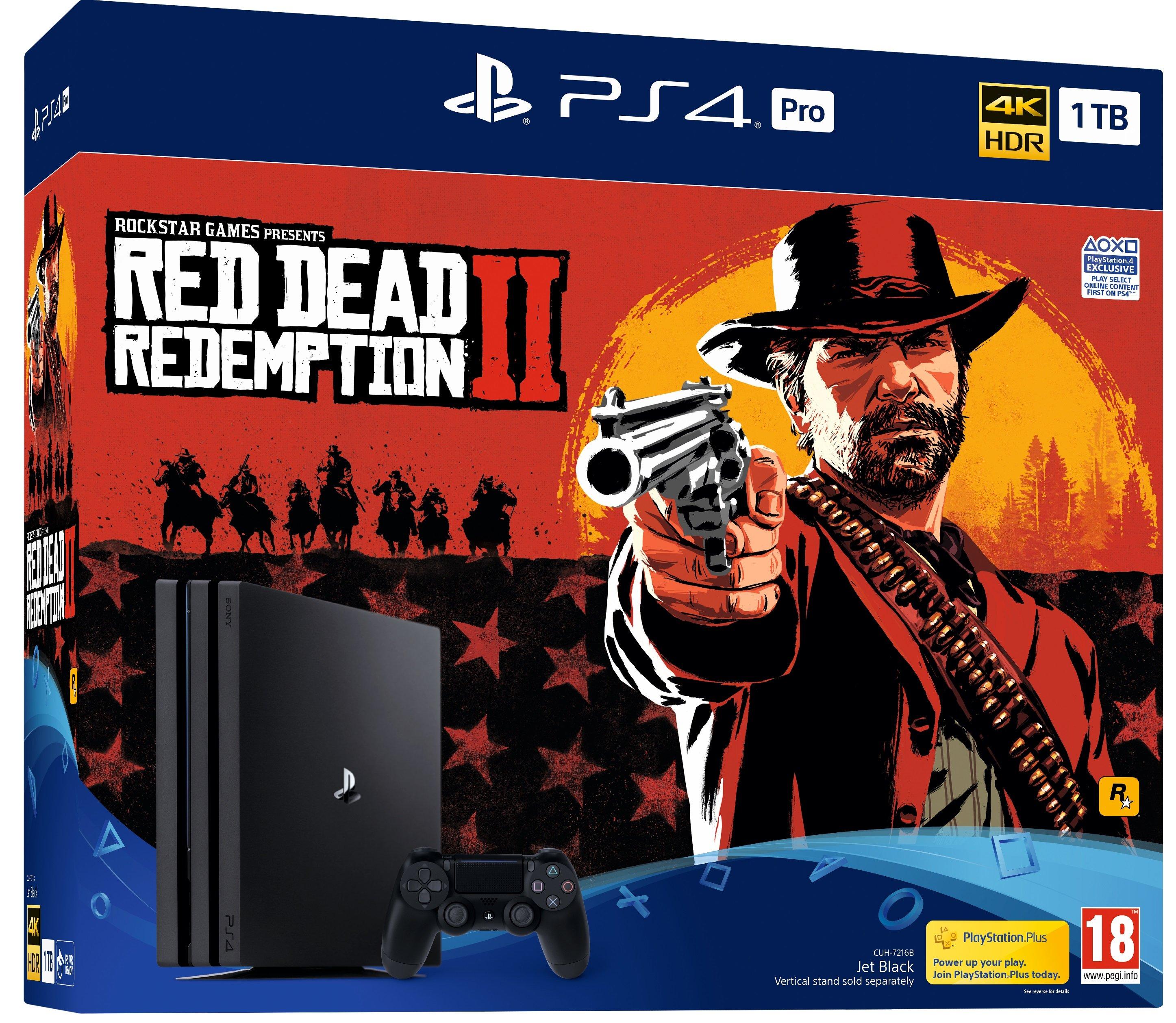 Red Dead Redemption 2 nécessite au moins 105 Go d'espace disque dur sur PS4