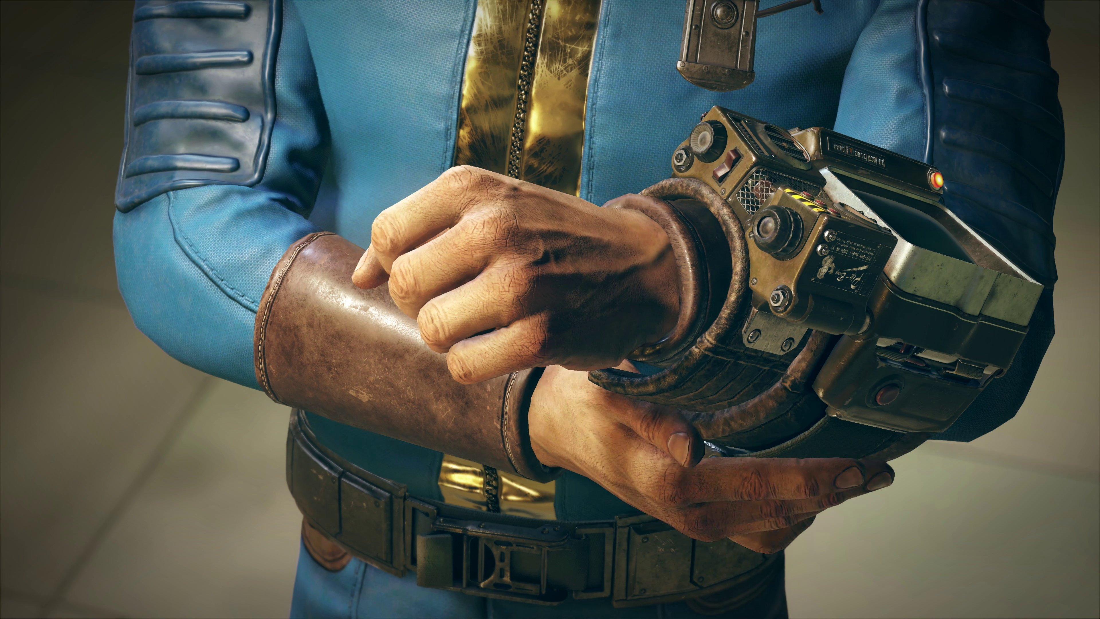 Les copies physiques de Fallout 76 sur PC comprennent un disque en carton.