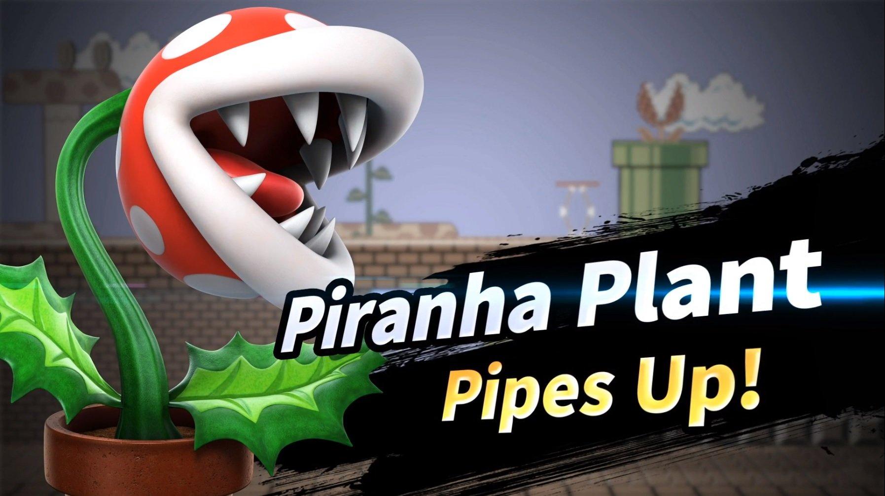 Super Smash Bros. Ultimate ajoute Piranha Plant comme bonus de précommande