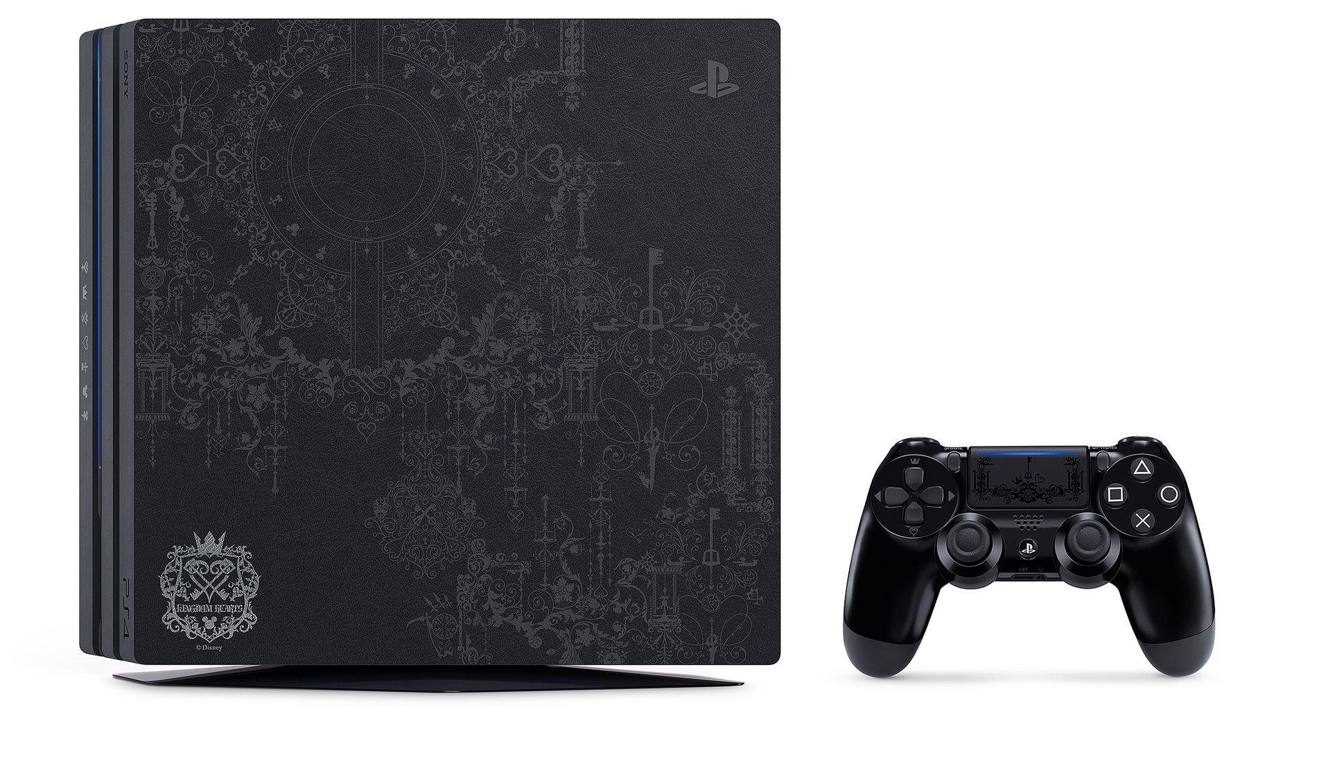 Royaume Coeurs 3 édition PS4 Pro annoncée