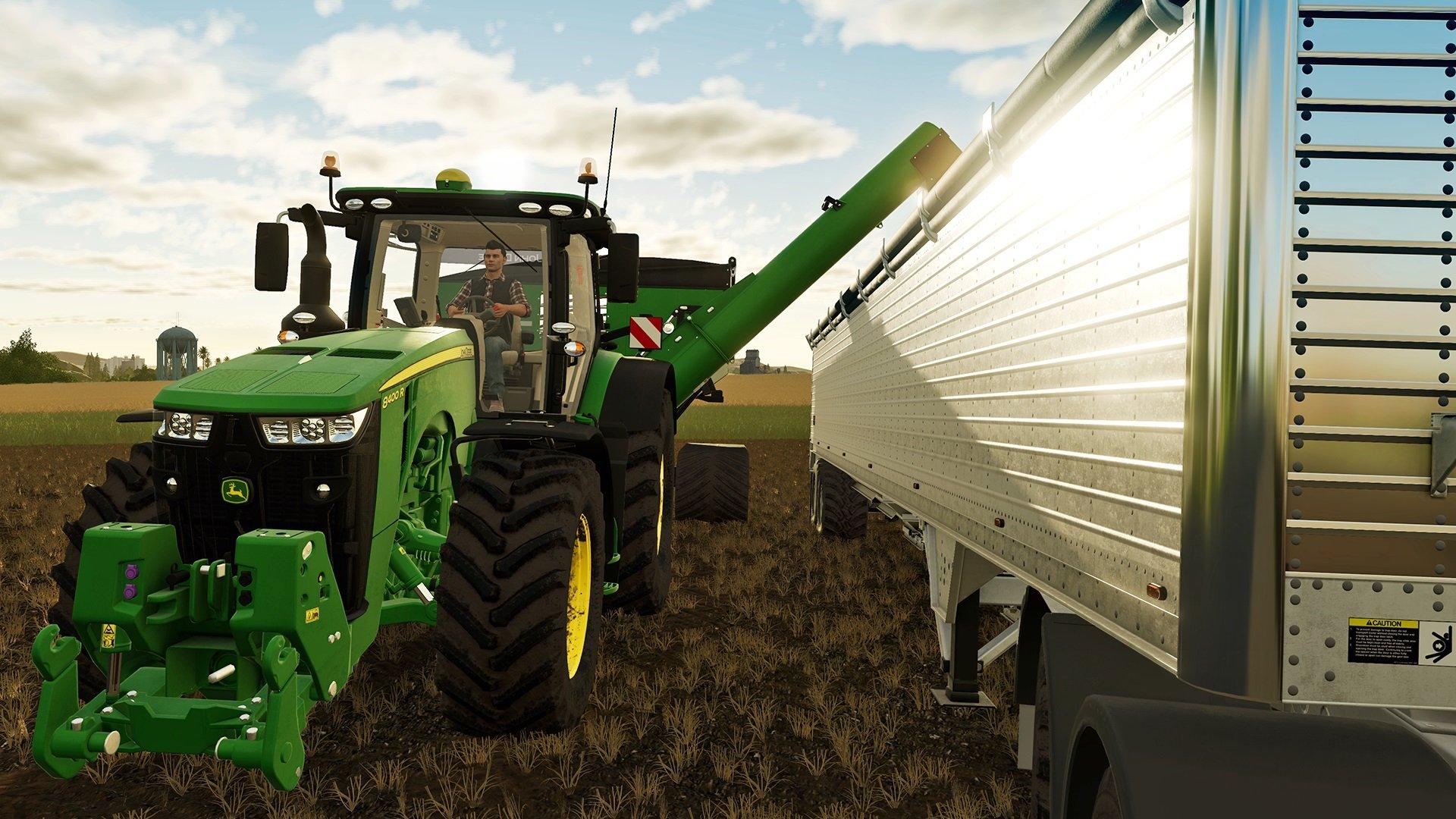 Farming Simulator 19 monte en puissance dans leur ligue des sports d'hiver