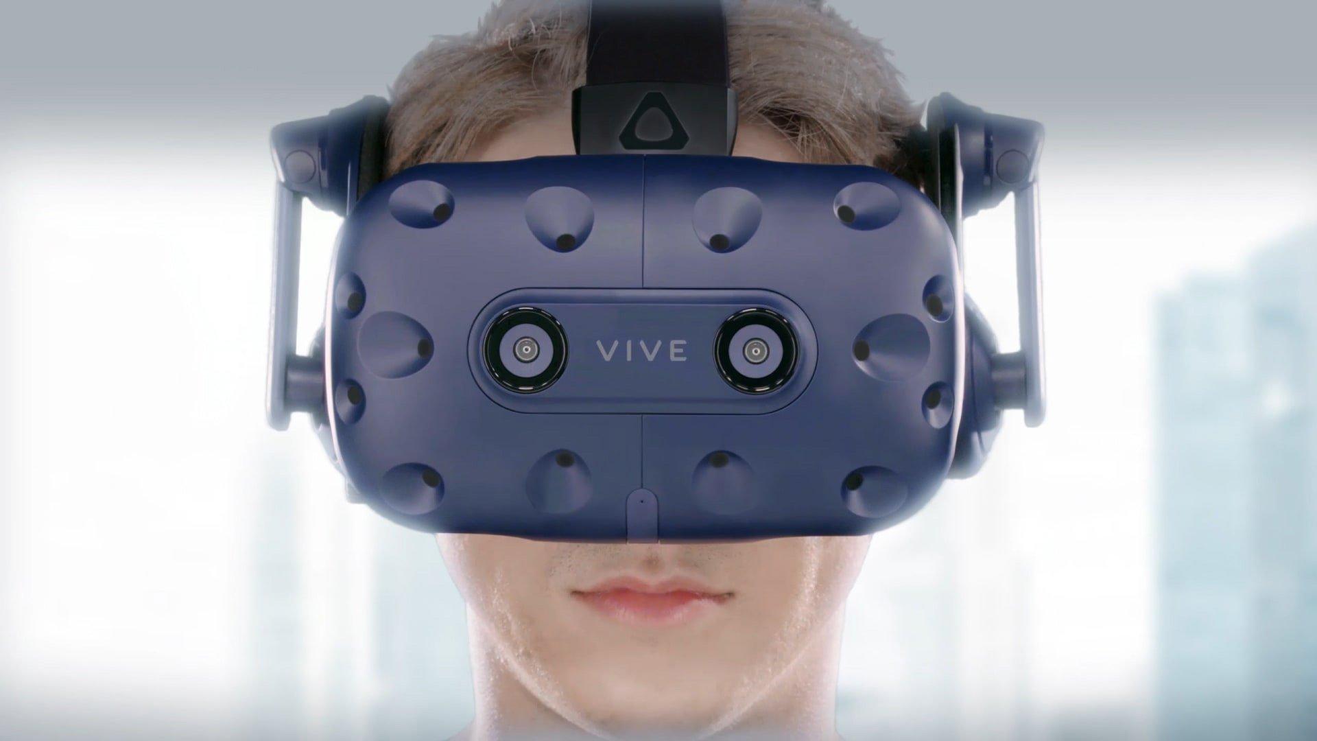 HTC ajoute le suivi oculaire avec Vive Pro Eye