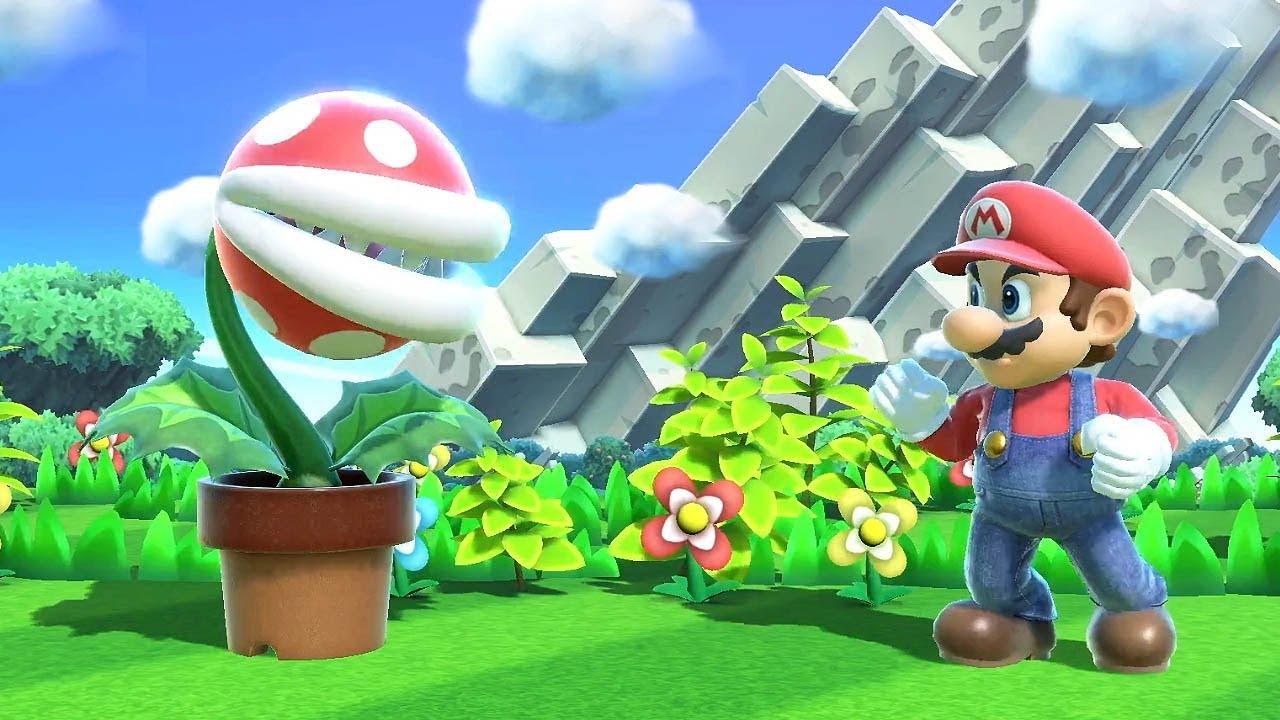 Piranha Plant arrive en 2.0.0.0 patch pour Super Smash Bros. Ultimate